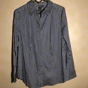 Lane Bryant Long-Sleeve Button-Down Shirt NW/OT